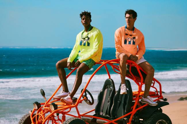 A 90S-INSPIRED COLLAB WITH ICONIC LIFESTYLE BRAND MISTRAL