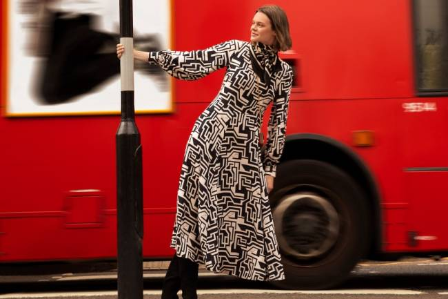 ICONIC BRITISH BRAND RICHARD ALLAN FOR A WOMENSWEAR COLLECTION