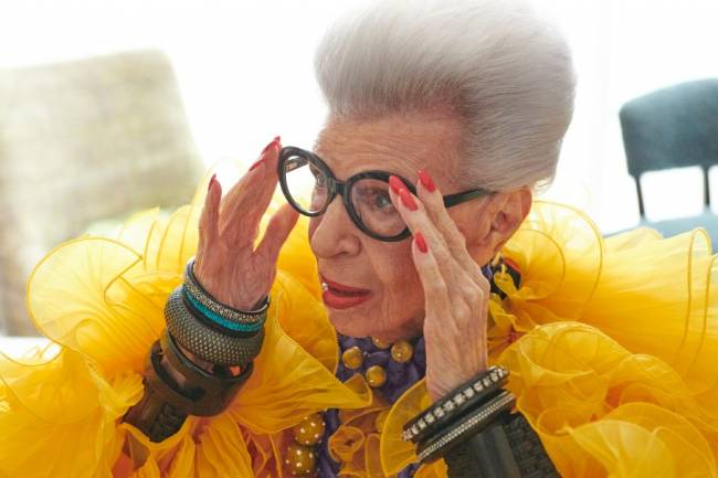 H&M is delighted to announce the global collaboration with a true fashion icon – the inspirational Iris Apfel.